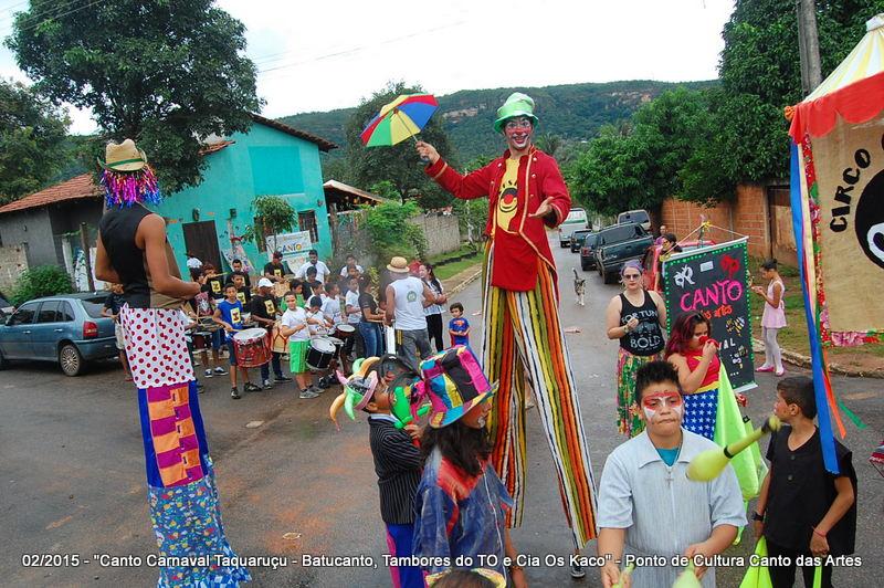 Canto Carnaval Taquaruçu 2015 - Cortejo Batucanto