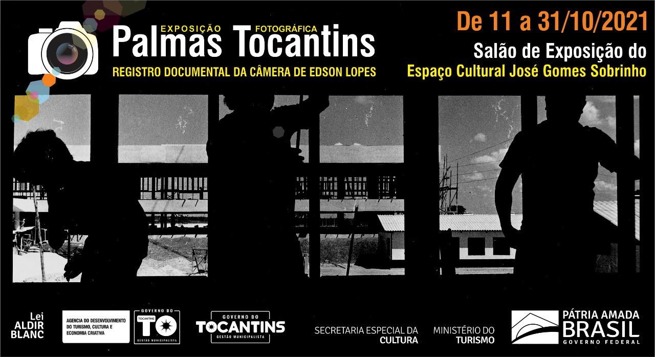 """Exposição """"Palmas Tocantins"""" resgata registros da Capital do acervo fotográfico de Edson Lopes"""