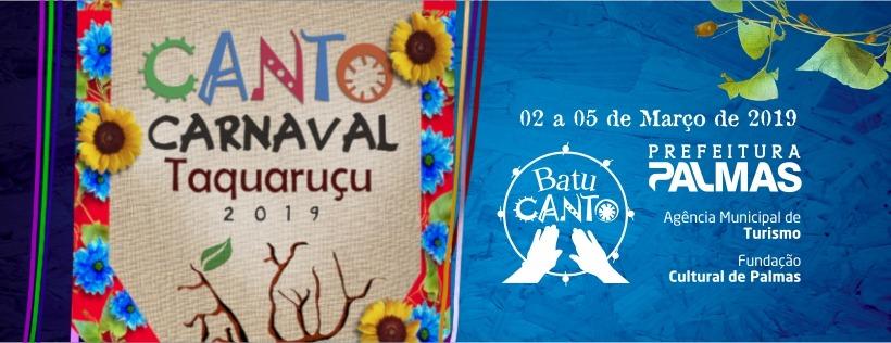 Canto Carnaval Taquaruçu 2019