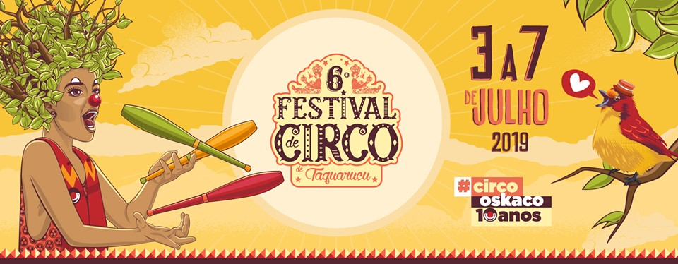 6° Festival de Circo de Taquaruçu - Apoio CANTO das Artes