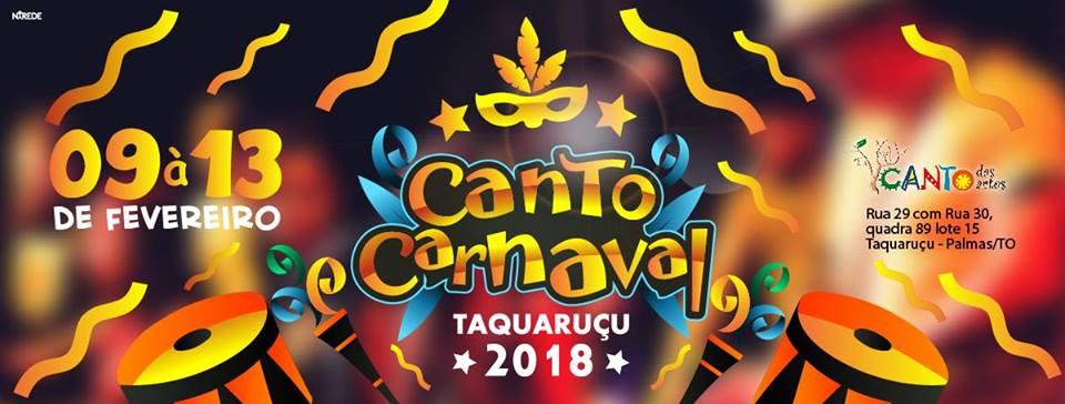 Canto Carnaval Taquaruçu 2018